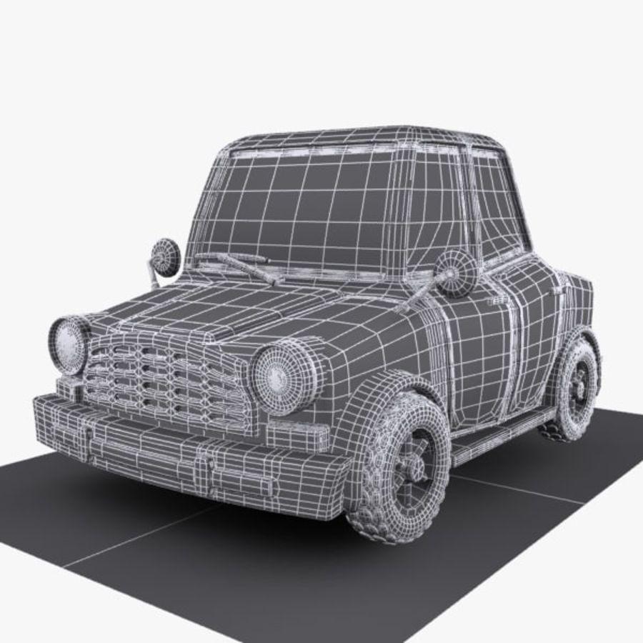 Samochód Cartoon 1 royalty-free 3d model - Preview no. 9