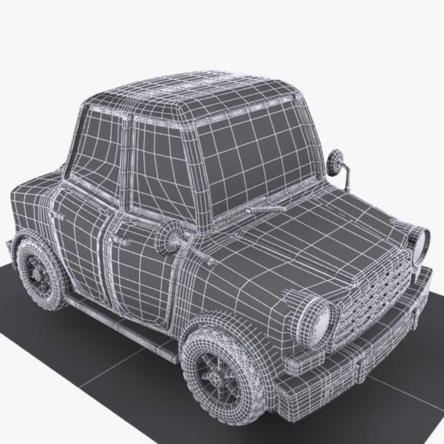 Samochód Cartoon 1 royalty-free 3d model - Preview no. 8