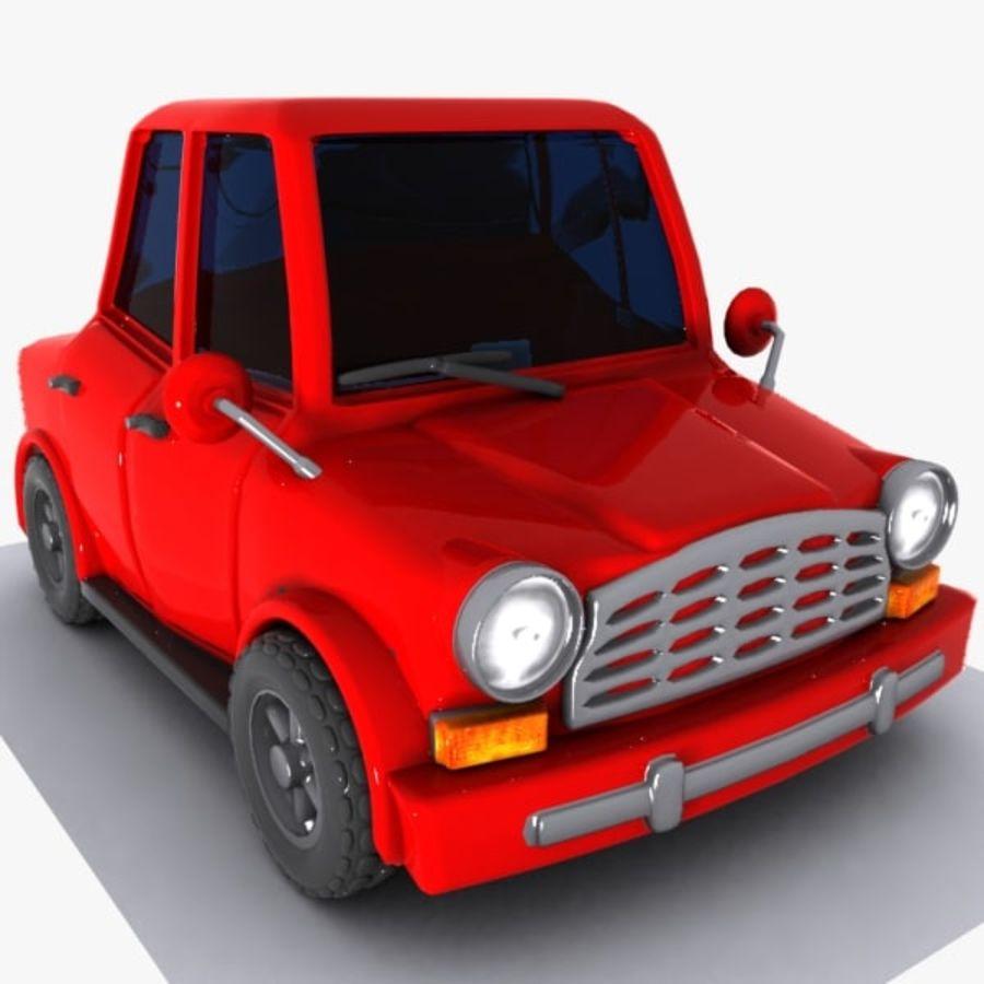 Cartoon Car 1 royalty-free 3d model - Preview no. 1