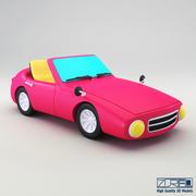 Carro deportivo modelo 3d