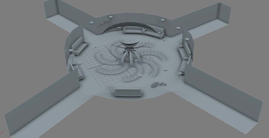 Museo royalty-free 3d model - Preview no. 5