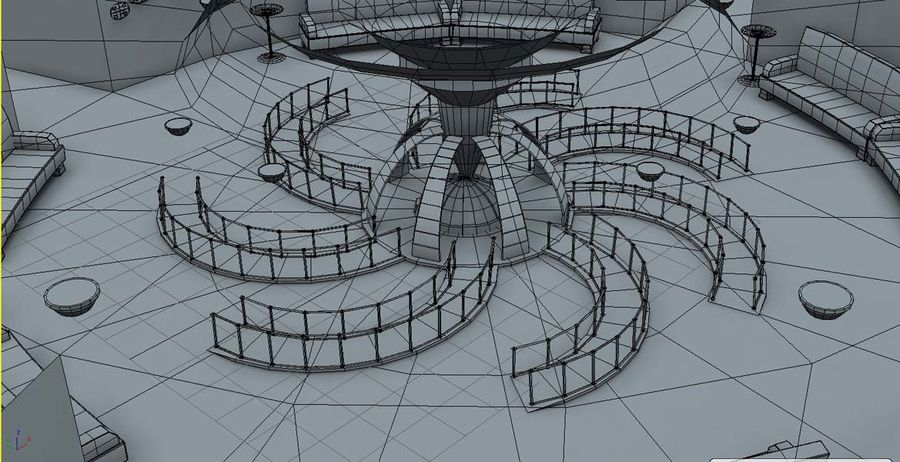 Museo royalty-free 3d model - Preview no. 7