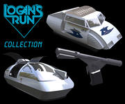 Logan´s Run - The collection 3d model