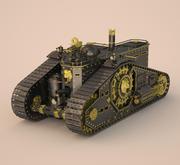 Стимпанк Танк 3d model
