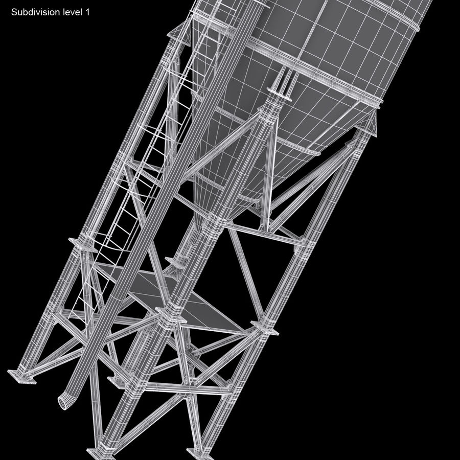Silo royalty-free 3d model - Preview no. 15