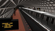 Metro - Washington DC 3d model