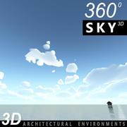 Gökyüzü 3D Gün 105 3d model