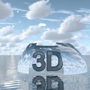 Sky 3D Day 087 3d model