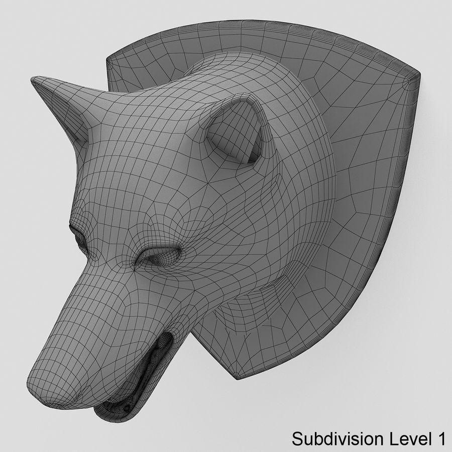 Kurt kafası royalty-free 3d model - Preview no. 7