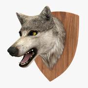 Cabeça de lobo 3d model