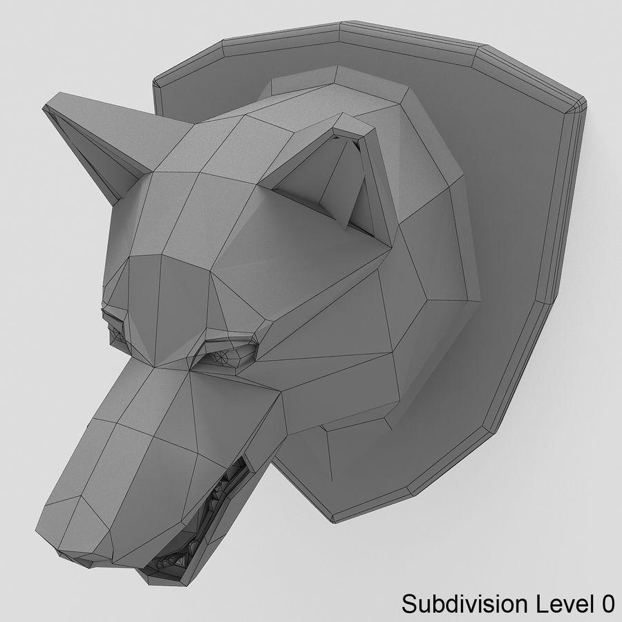 Kurt kafası royalty-free 3d model - Preview no. 6