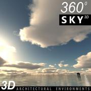 Sky 3D Day 018 3d model