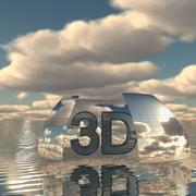 하늘 3D 데이 018 3d model