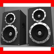 Speakers Colum High Poly 3d model