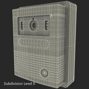 Campainha de vídeo 2 3d model