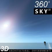 Sky 3D Day 014 3d model