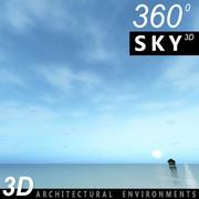 Ciel 3d jour 095 3d model