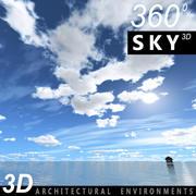 Sky 3D Day 041 3d model