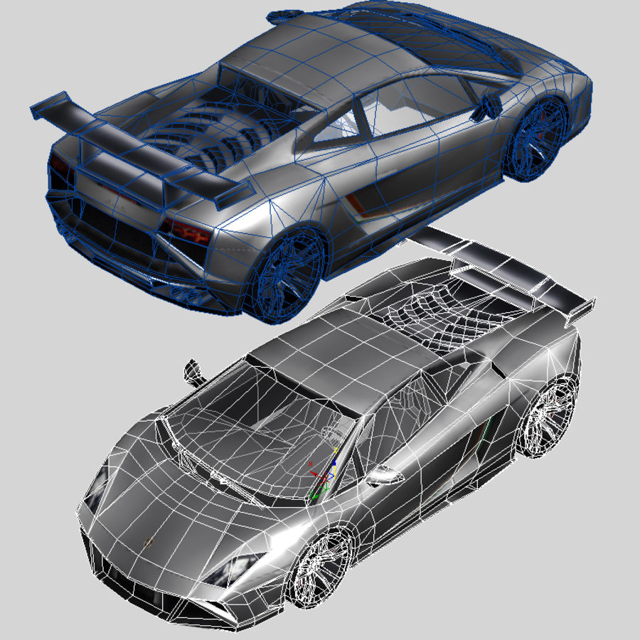 Lamborghini Gallardo LP-570 4 (2014)3d details royalty-free 3d model - Preview no. 8