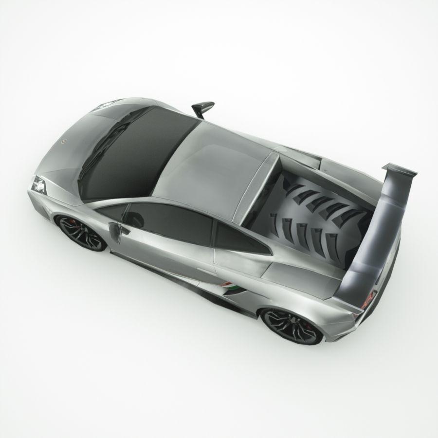 Lamborghini Gallardo LP-570 4 (2014)3d details royalty-free 3d model - Preview no. 5