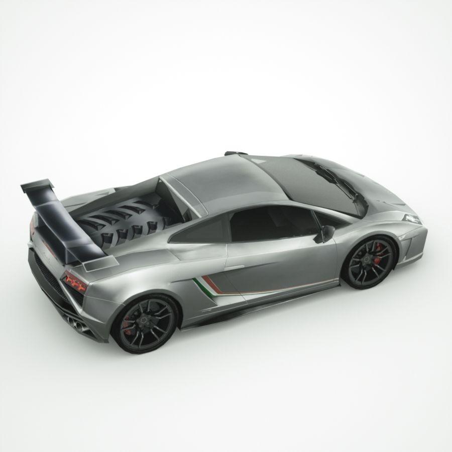 Lamborghini Gallardo LP-570 4 (2014)3d details royalty-free 3d model - Preview no. 4
