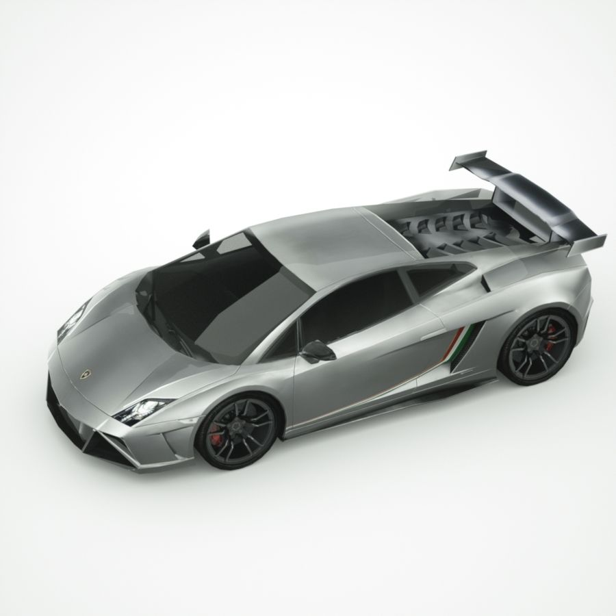Lamborghini Gallardo LP-570 4 (2014)3d details royalty-free 3d model - Preview no. 3