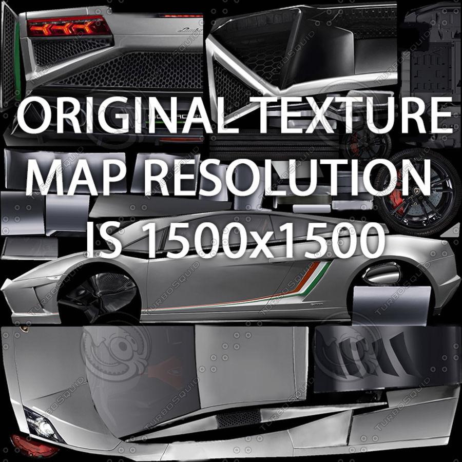 Lamborghini Gallardo LP-570 4 (2014)3d details royalty-free 3d model - Preview no. 9