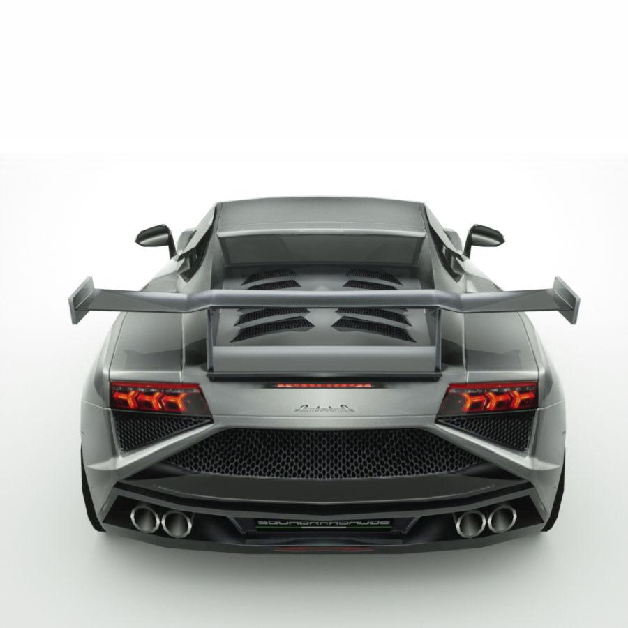 Lamborghini Gallardo LP-570 4 (2014)3d details royalty-free 3d model - Preview no. 7