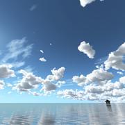 Sky 3D Day 029 3d model
