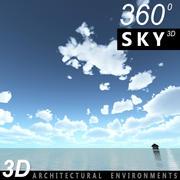 Gökyüzü 3D Günü 104 3d model