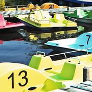 paddle boat 3d model