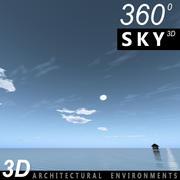 Sky 3D Day 089 3d model