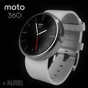 Motorola moto360 leather + NURBS 3d model