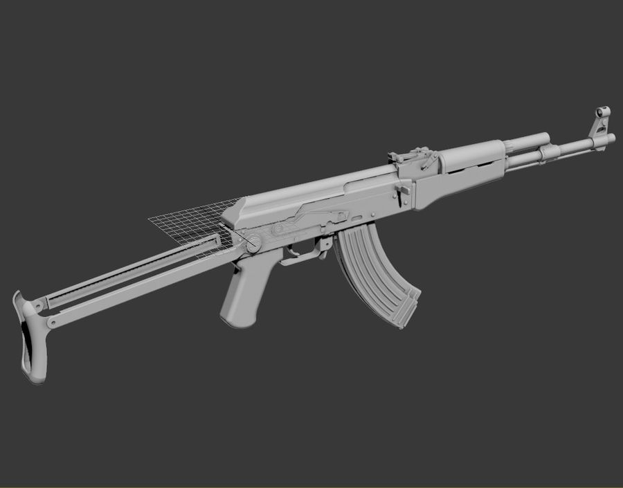 Tipo 56-1 rifle de asalto royalty-free modelo 3d - Preview no. 10