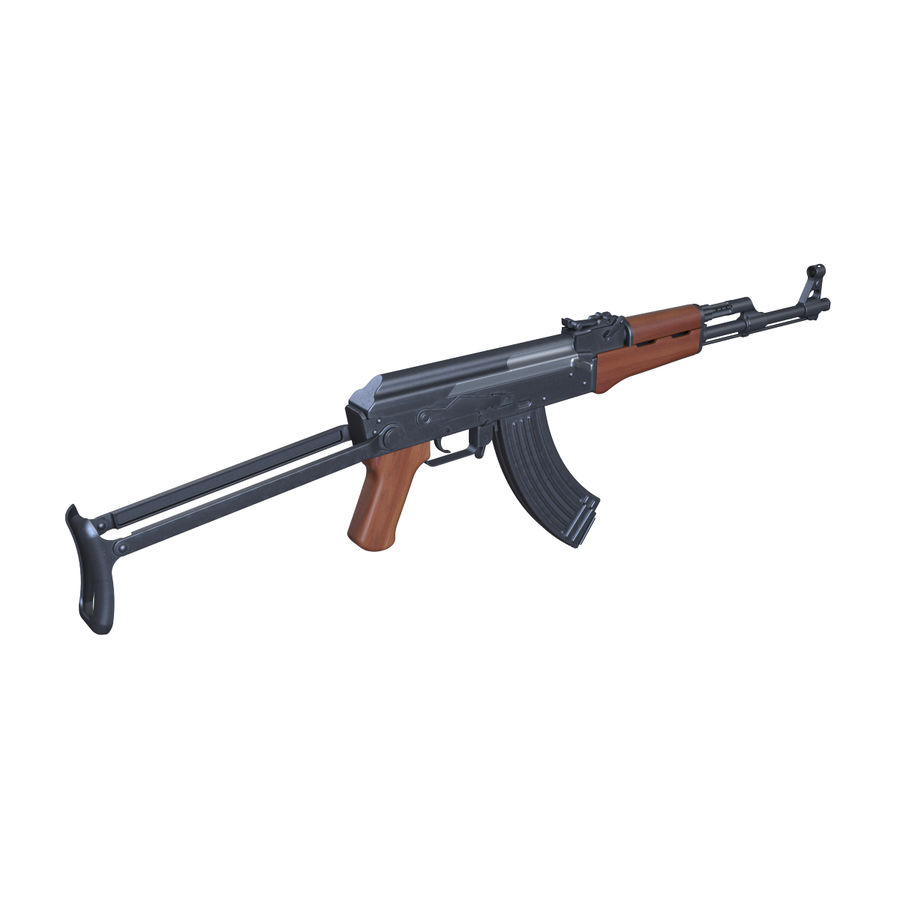Type 56-1 assault rifle royalty-free 3d model - Preview no. 1