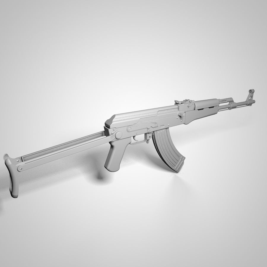 Tipo 56-1 rifle de asalto royalty-free modelo 3d - Preview no. 7