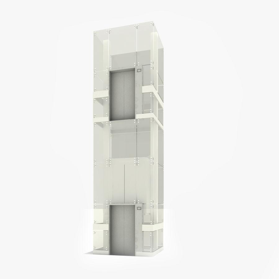 Glass Elevator 3D Model $39 -  skp  max - Free3D