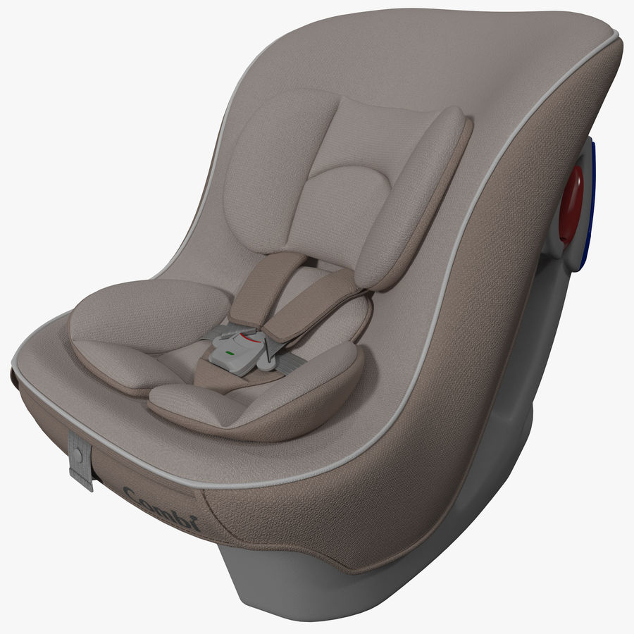 Convertible Car Seat Combi Coccoro Royalty Free 3d Model