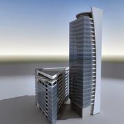 Modern Building 008 3d model
