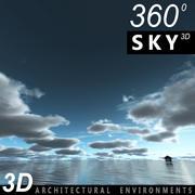 Sky 3D Day 026 3d model