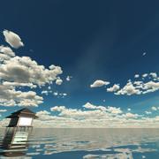 天空3D日013 3d model
