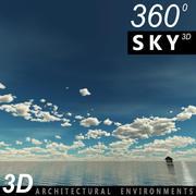 Sky 3D Day 013 3d model