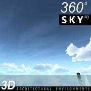 天空3D日103 3d model