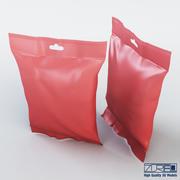 Food packaging 50 grams v 1 3d model