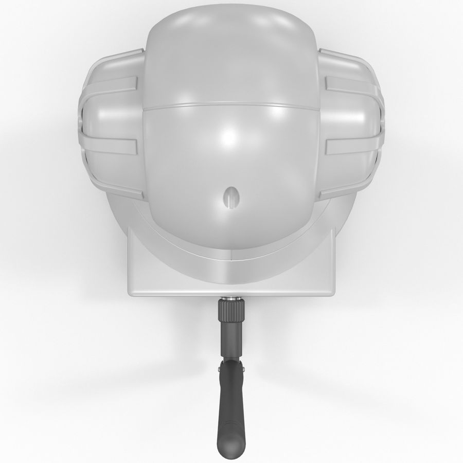Wireless IP Surveillance Camera Wansview royalty-free 3d model - Preview no. 10