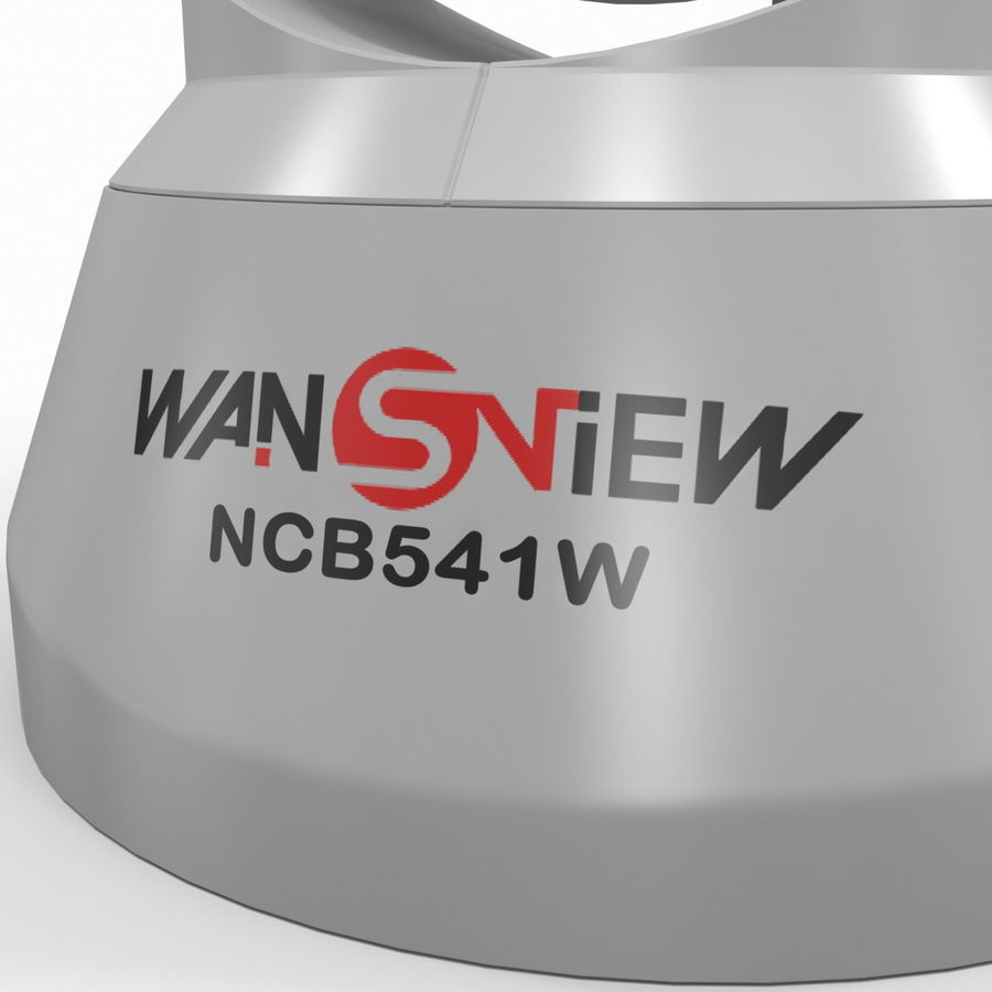 Wireless IP Surveillance Camera Wansview royalty-free 3d model - Preview no. 14