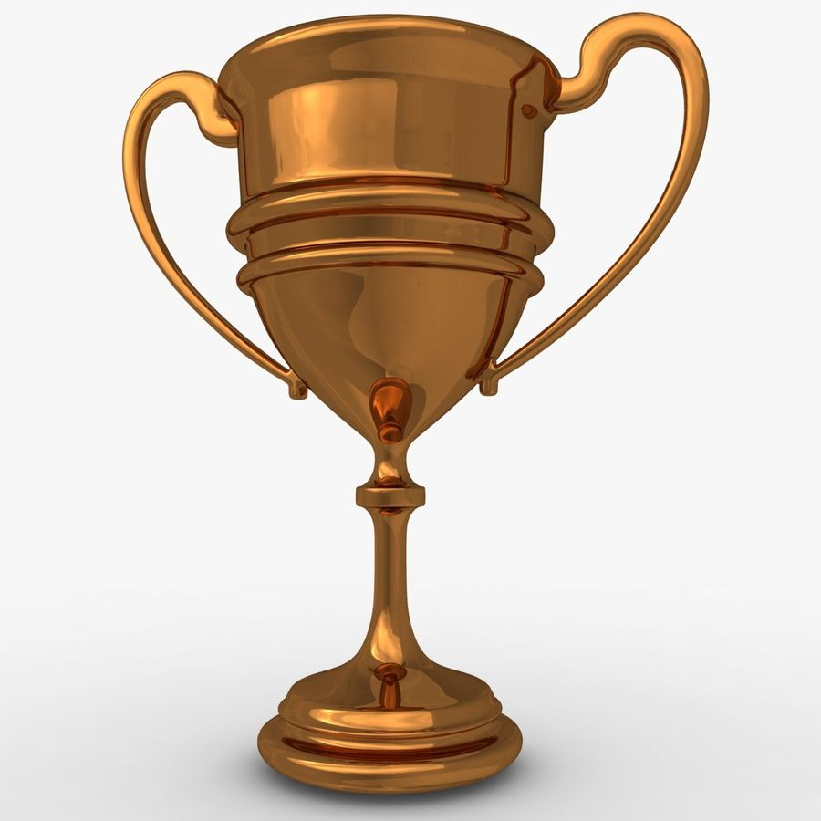 Trophy Cup 5 royalty-free 3d model - Preview no. 7