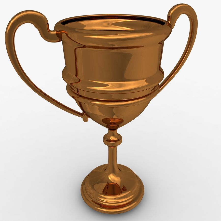 Trophy Cup 5 royalty-free 3d model - Preview no. 4