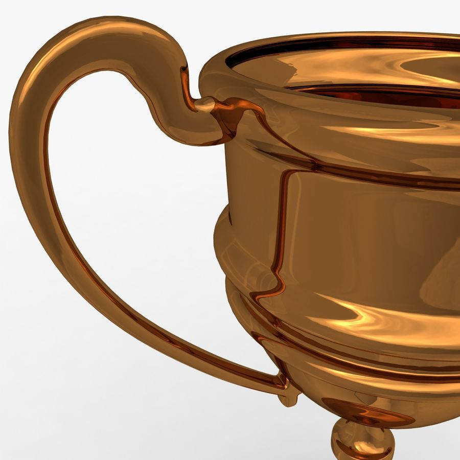 Trophy Cup 5 royalty-free 3d model - Preview no. 5