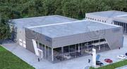 Центр продаж Ауди 3d model